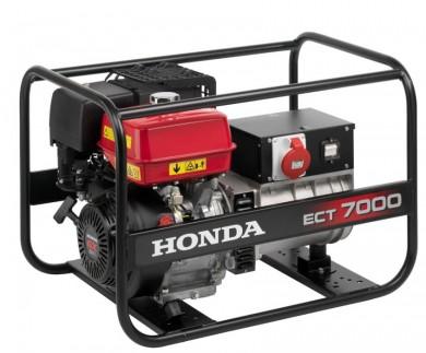 Трифазен генератор 7kW под наем Honda ECT7000