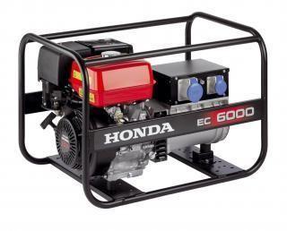 Монофазен генератор 6.0kW под наем Honda EC 6000