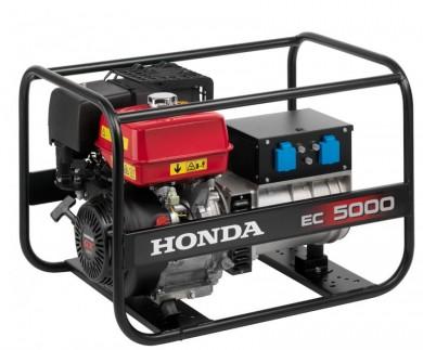 Монофазен генератор 5.0kW под наем Honda EC 5000