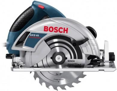 Ръчен циркуляр под наем Bosch GKS 65 CE
