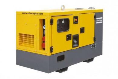 Трифазен генератор под наем 16kW Atlas Copco QES20